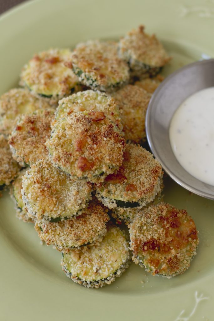 Baked Zucchini Gold Coins
