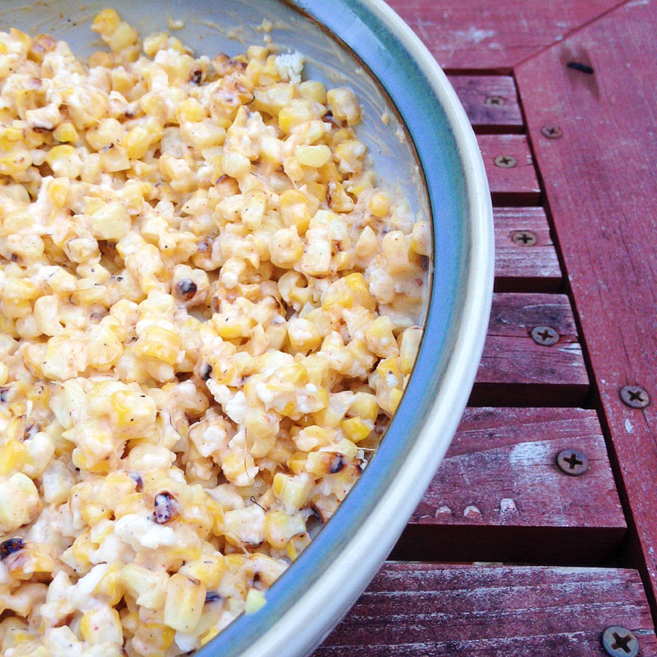 Spicy Grilled Street Corn Salad