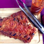 Homemade BBQ Ribs with Sweet Is The Spice Sauce