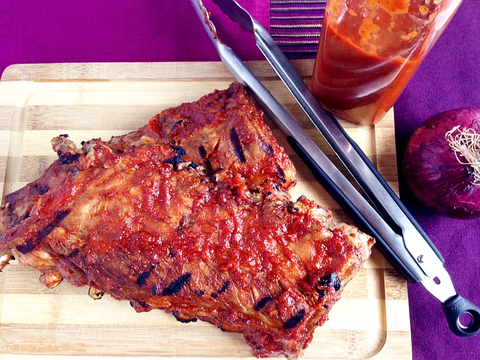 Homemade Barbeque Ribs with Sweet Is The Spice Sauce
