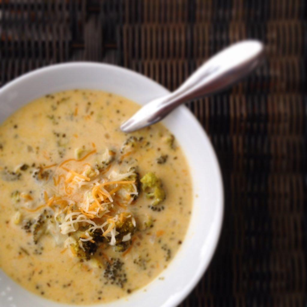 Broccoli Cheddar Soup 1