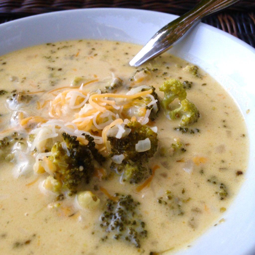 Broccoli Cheddar Soup 2