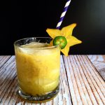 Star Fruit and Jalapeno Margarita