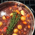 Hearty Red Wine Braised Beef Stew